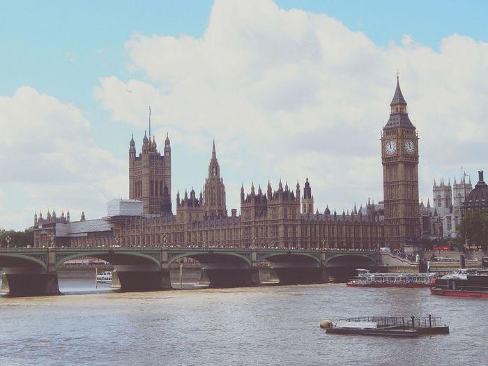 London Bigben Art Monument Beauty River Travel