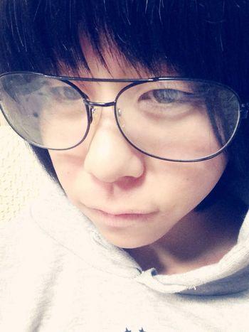 まーちゃんのメガネ。