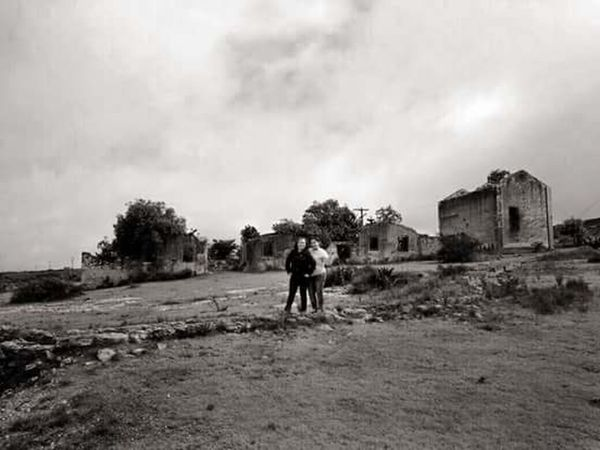 Haciendas... Querétaro Outdoors Rural Scene Architecture Lifestyles Walking Solitude Sky Mexico City Beautiful Photography Girls Guanajuato, México Mineral De Pozos Cloud - Sky Rain Clouds Sister ❤ Blackandwhite Photography
