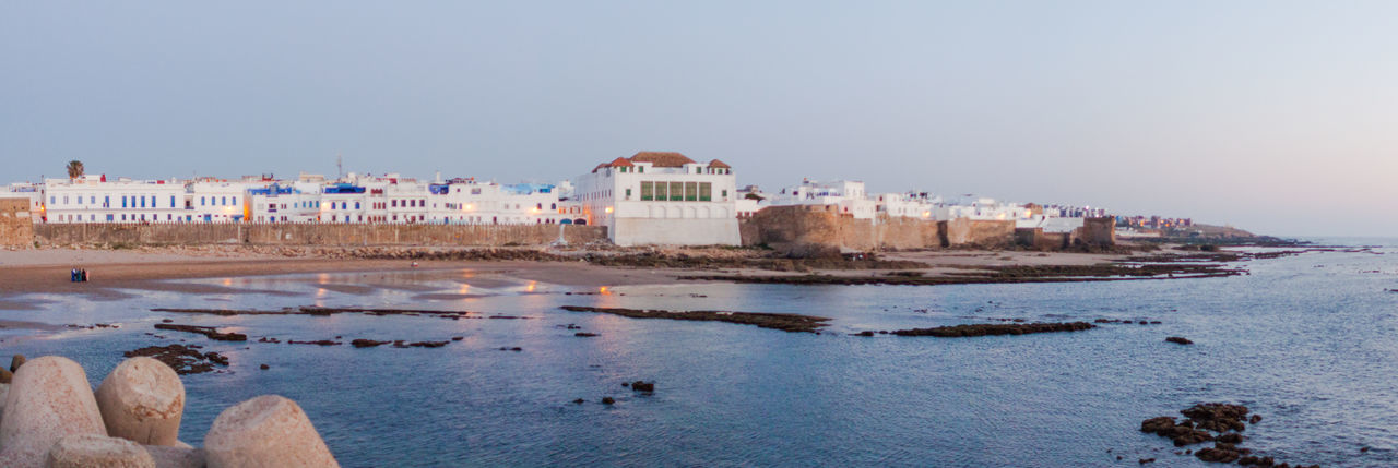a Architecture Asilah Beach Beautiful Beauty In Nature Blue Built Structure Coastline Day Moroccan Morocco Nature No People Old Old Buildings Outdoors Scenics Sea Shore Sky Tranquil Scene Tranquility