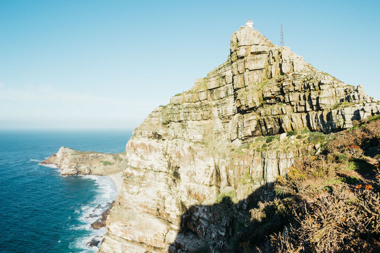 Cape Point at Sunrise. A series. Late December, 2018. Sky Nature Land Beauty In Nature Tranquility Scenics - Nature No People Jonnynichayes Cape Town South Africa Morning Landscape Copy Space Popular Photos Day Water Sea Ocean Seascape Coastline Coast Beauty Adventure Explore Sunrise Love Peace Cape Point Cape Point South Africa  Blue Sky Wonderful Wonder My Best Photo My Best Travel Photo Beach Surf
