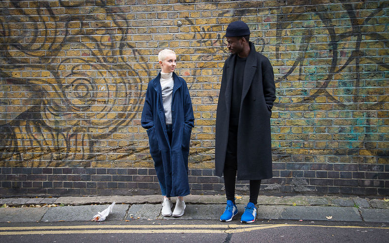 Alternative Black Man Blond Girl Brick Wall Bricks Cool Couple Enjoying Life Fashion Full Length Haircut Jacket Lifestyle Outdoors Shoes Standing Street Streetfashion Streetphotography Stylish Togetherness Two People Young Couple