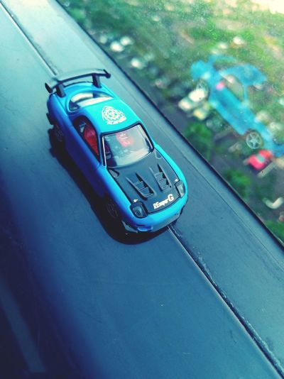 my collection Tomica P4lsoe Diecastcars Diecastphotography Takaratomy Show Off Mazda RX7 Mazda Hobby Car Close-up