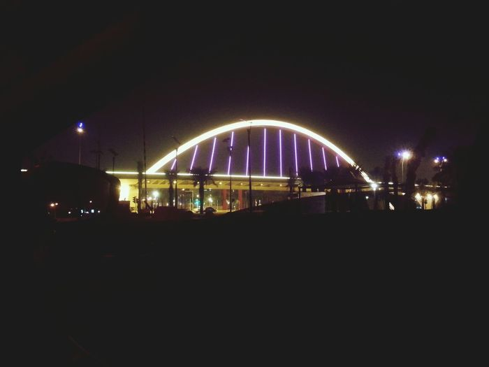طريق الملك عبد الله في اخر الليل من دون زحمة جو وناسه First Eyeem Photo
