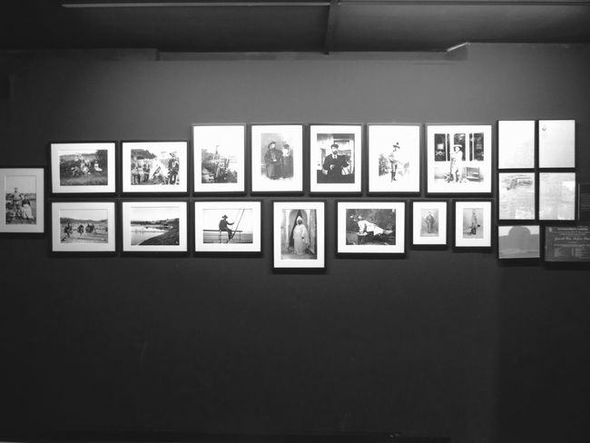 Picture Frame Indoors  No People Museum Blackandwhite B&w Minimal Wall Photos