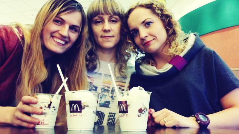 Polish Girl Polishgirl Hello World Icecream! Afterexam Ice Cream Icecream ♥ Girls Withfriends