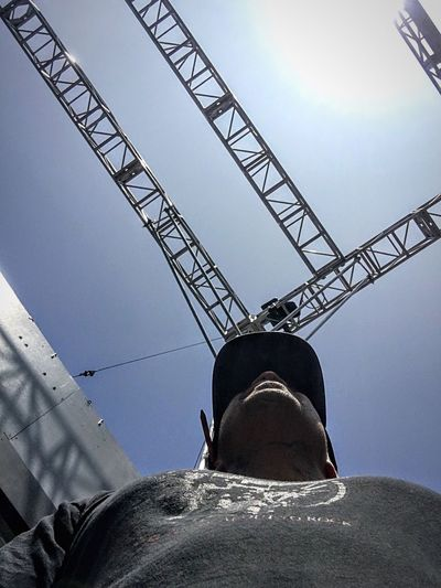 Onset Low Angle View Sky Nature Metal Architecture Industry Clear Sky