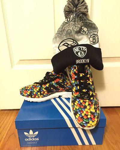 Nueva adquisición Adidas M &m o Lacasitos Nets Brooklyn Por84dolares