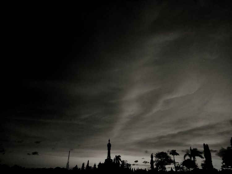 Darkness.. Sky Sunset Nature City Travel Destinations Tourism Urban Skyline Tower Cityscape Cloud - Sky Photography Edited Night No People Illuminated Editor Videography First Eyeem Photo Editorvideo EyeEmBestPics Eye4photography  EyeEm Best Shots - Black + White Worldwide Amazing Sunset Sky
