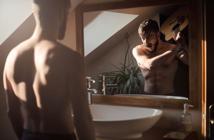 The agreement Mirror Domestic Bathroom Adults Only Bathroom Indoors  One Person Reflection Standing Shirtless Domestic Room Adult Window Lifestyles Taking A Bath People Brown Hair Human Body Part One Woman Only Beauty Young Adult Beard Portrait Violence The Week On EyeEm