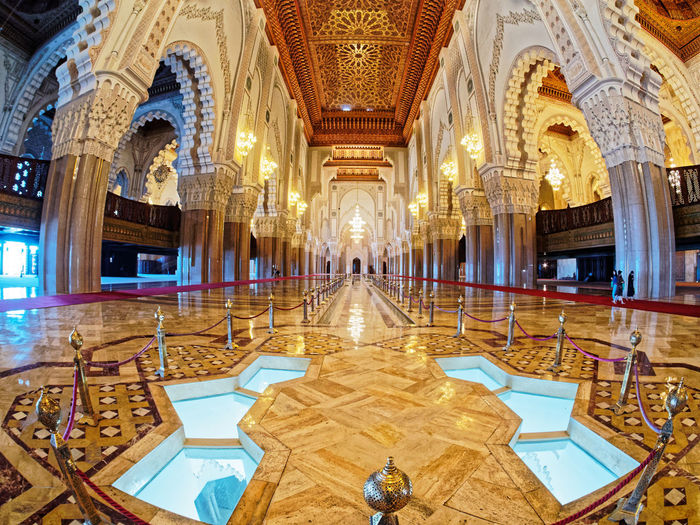 Architecture Indoors  Travel Destinations Built Structure Lighting Equipment Luxury Architectural Column Wealth Building Seat Illuminated History The Past Travel Ceiling Religion Tourism Arch Ornate No People Flooring Tiled Floor