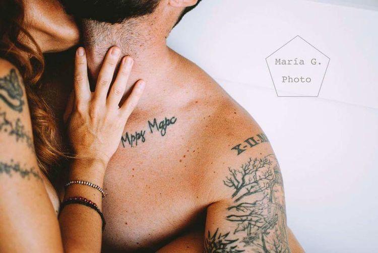 Human Body Part Body Paint Tattoo Love Kiss Lovemorning Nikonphotography Photooftheday
