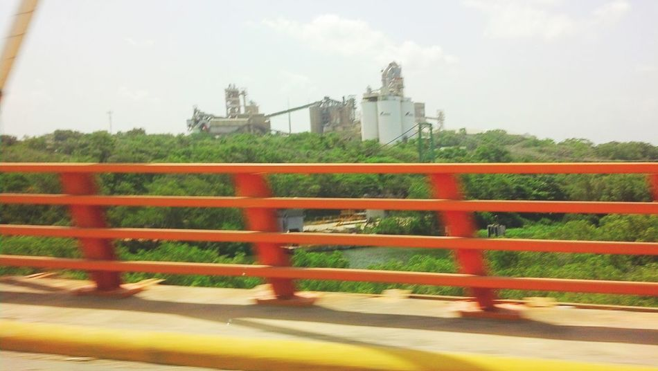 MeinAutomoment Car Ride  Bridge View Bridge Colorful Summer Views Original Experiences Contrasting Colors Sunny Day Fast Shot Fast Motion On The Way Feel The Journey Santo Domingo Republica Dominicana
