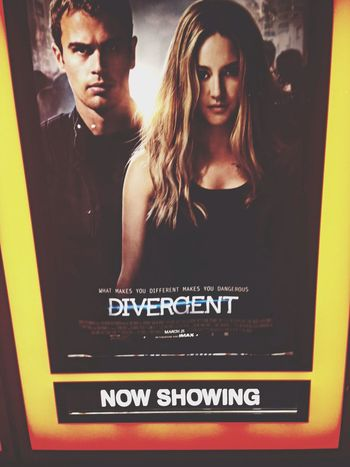Watching A Movie Divergent Hot theo though OMG New