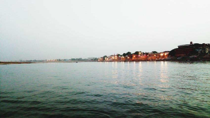 """""""GANGA"""" River Water Peace Happiness Outdoors Evening"""