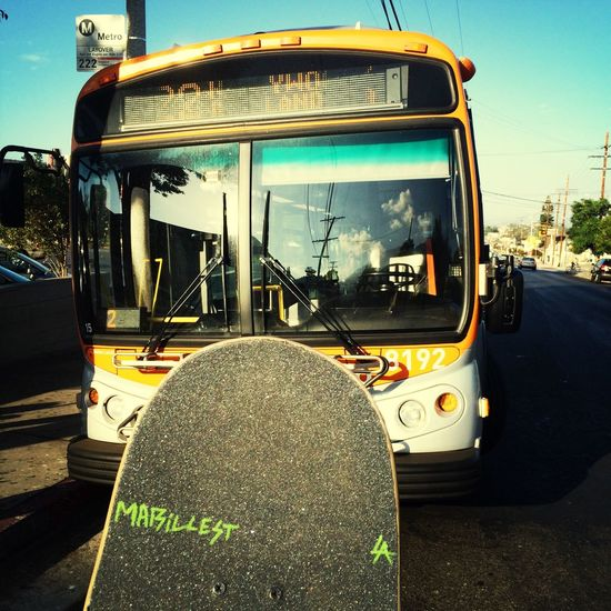 Long work day ahead with my team today Skateboarding Gometro Cool Buslife