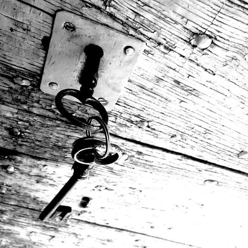 Taking Photos Keys Black & White EyeEm Best Shots @ Ernesto Galizia Contemporary Art Doors Wood Creative Light And Shadow