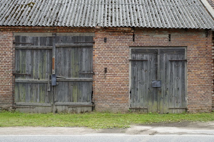 Architecture Barn Building Exterior Built Structure Closed Day Door Doors No People Outdoors Protection