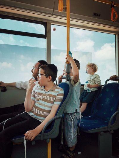 Takeoff מייחיפה Mydbusmoments מייאייפון10 IPhoneX ShotOnIphone Sitting Real People Window Boys Mode Of Transportation Child Transportation Sitting Real People Window Boys Mode Of Transportation Child Transportation