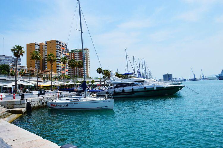 Spain♥ Malagueta Malaga♡ Malaga Puerto Holidays ☀ Sunny Day Beautiful Day Dreamy♡ Sunshine Relaxing