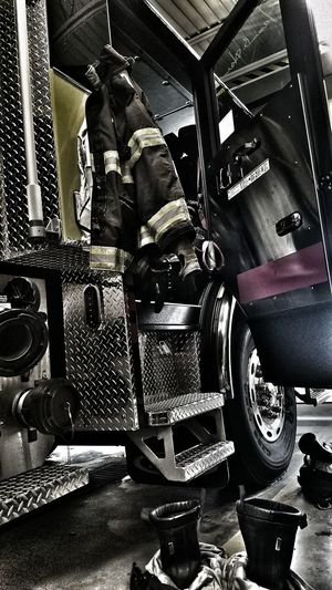 Firefighter On Shift The Calling Service Apparatus Check This Out EyeEm Best Shots Always Ready
