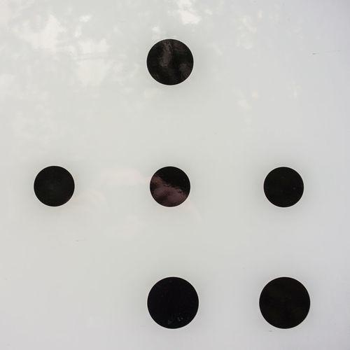 Abstract image of circular window