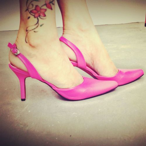 Love this shoes! Shockingpink High Heels Fashiontoday Ready To Go ♥