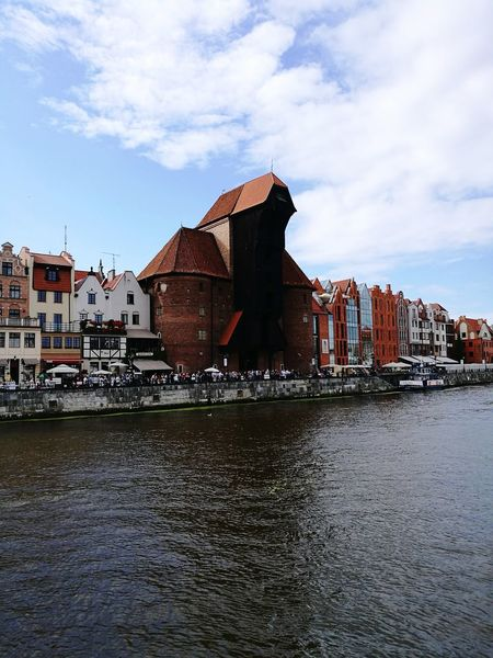 Water Architecture Built Structure History Day Gdansk, Poland