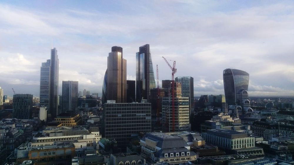 London City Tower View Of London Cheesegrater Building Walkietalkiebuilding