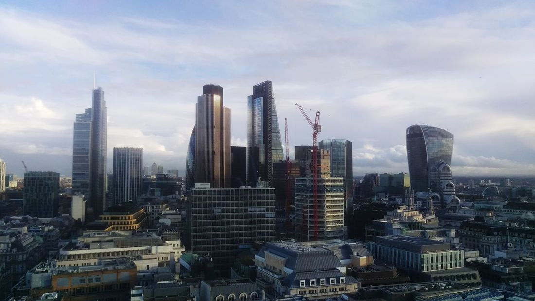 London City Tower View Of London Cheesegrater Building Walkietalkiebuilding