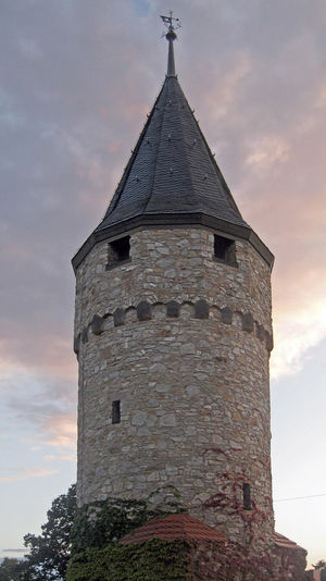 The Rathausturm (Town Hall Tower) in Bad Homburg, Germany Architecture Building Exterior Built Structure Medieval Medieval Architecture No People Rathausturm Sky Tower