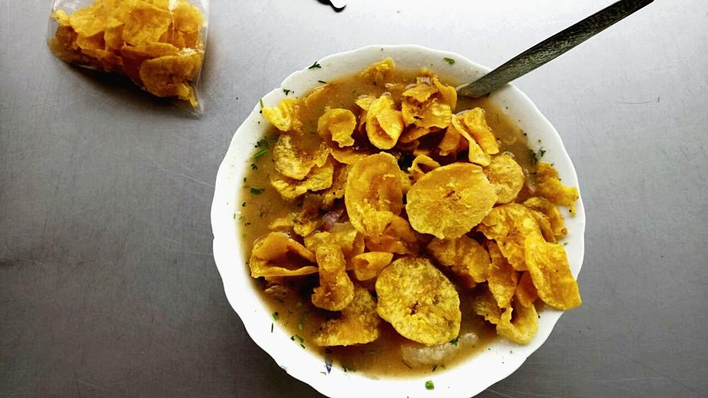 Food EyeEm Nature Lover Yellow No People Indoors  Yellow Potato Chip Fried Food And Drink Prepared Potato Indoors  Food No People