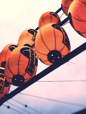 Lastdayofsummer Festival 祭 ちょうちん
