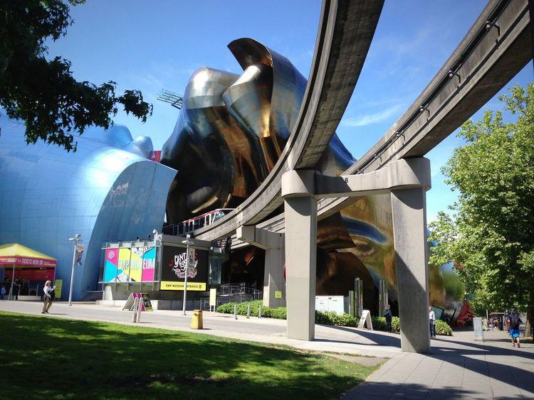 Seeing The Sights Emp Museum Seattle Washington USA