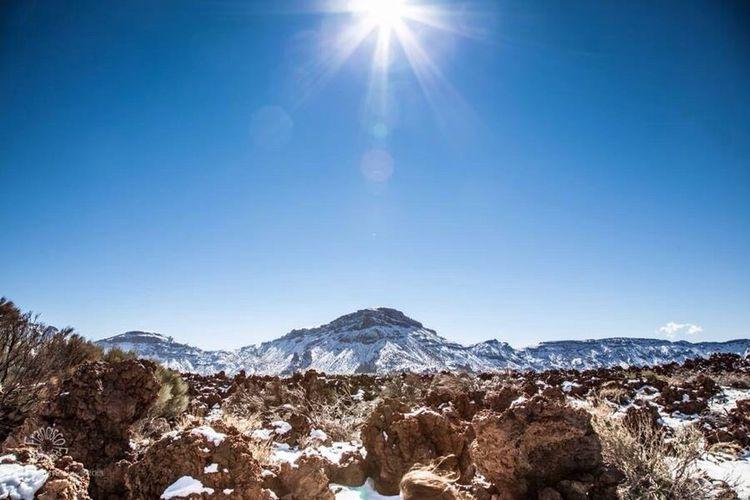 El Teide Hello World