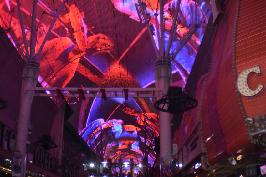 Freemont Street Experience Illuminated City Celebration Party - Social Event Architecture