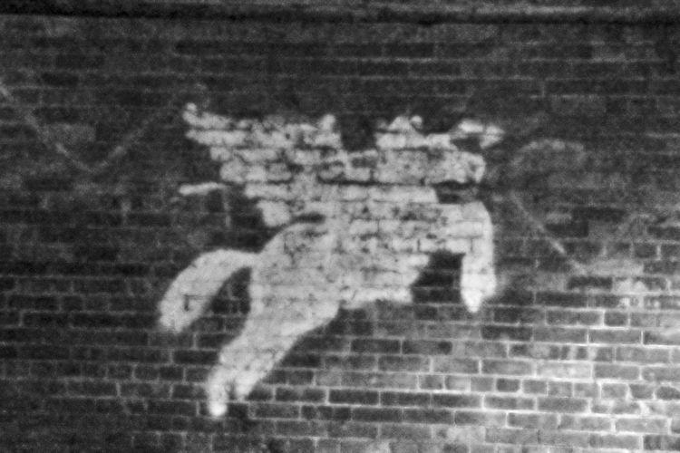 Art Brick Wall Military Link Pattern Textured  Wall
