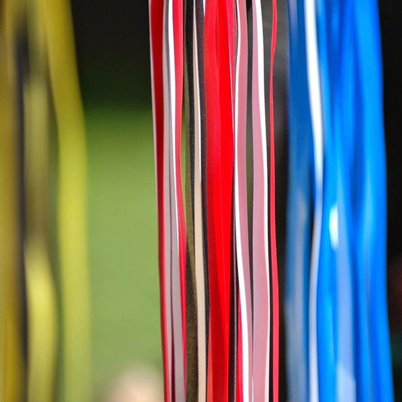 multi colored, variation, textile, backgrounds, choice, no people, close-up, focus on foreground, full frame, hanging, indoors, day