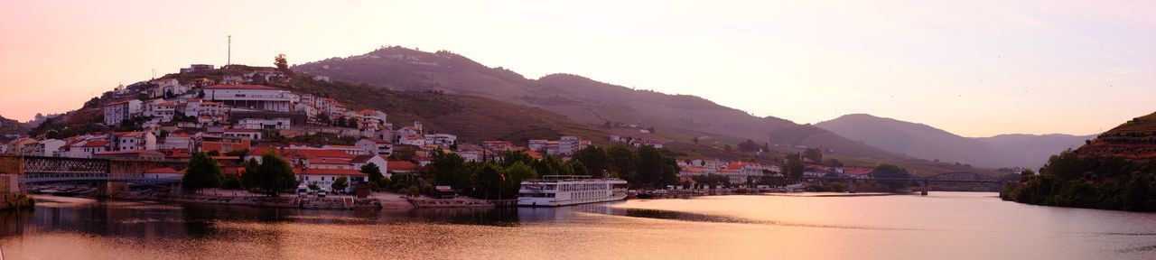 Cruising on the River Douro River Cruise Sky Mountain Nature Sunset