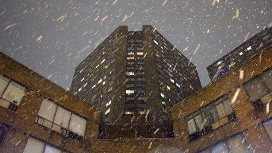 Photos taken in and around Toronto, new years 2019. Toronto Winter Snow Snowing City Urban Architecture Built Structure Building Exterior Building Window No People Modern Night Sky Office Building Exterior Outdoors Low Angle View Office Tall - High Skyscraper