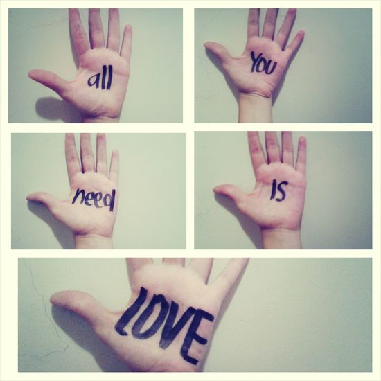 beatles ♥♥♥ The Beatles All You Need Is Love Music
