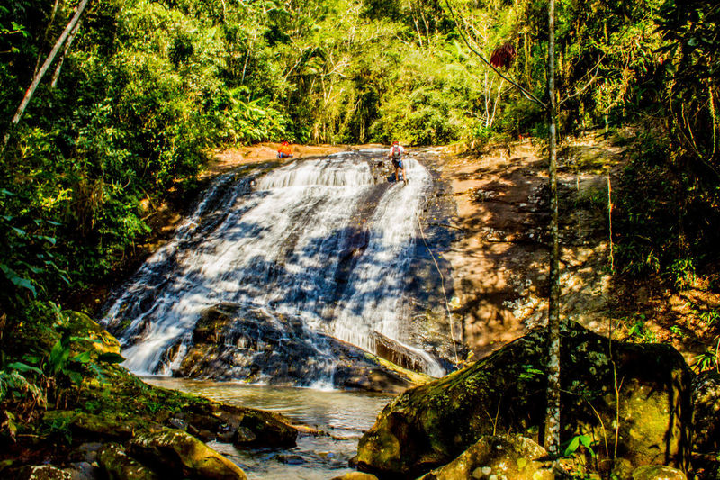 Ecoturismo Meleiro, Brazil Adventure Beauty In Nature Day Ecoturism Forest Motion Mountain Nature No People Outdoors Plant River Scenics Tree Water Waterfall