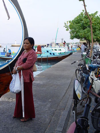Boat Day Fish Market Fish Ship Fisherman Footpath Full Length In Front Of Lifestyles Love Mode Of Transport Nautical Vessel Outdoors Person Transportation