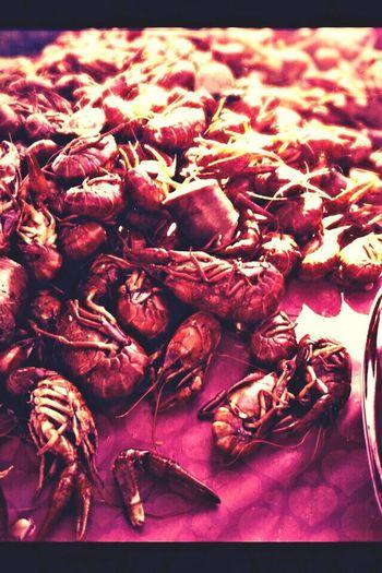 Chow factor! Cajun Food Crawfish Blockparty Crawfish Boil
