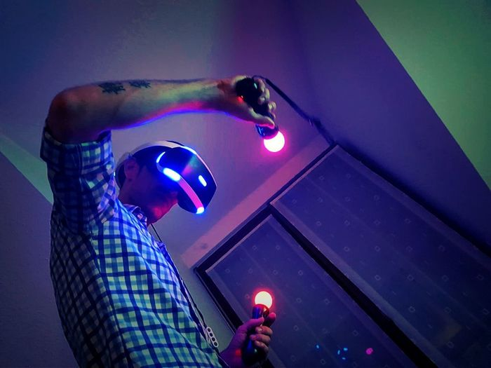 VR mode Playing