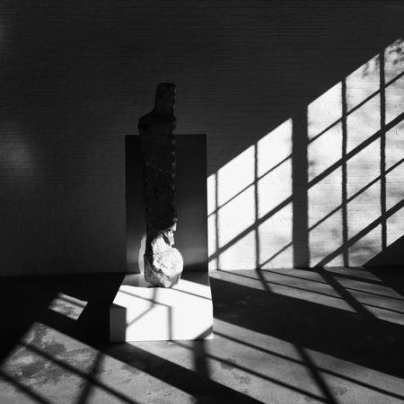Stone free No People Indoors  Day City NY NYC Museum Noguchi Noguchi Garden Bnw Monochrome Blackandwhite Black & White Black And White Shadow Stone Art Art Muesum Shadows