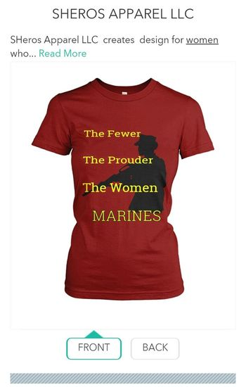 this is a Shirt my mother has designed and it's FINALLY for sale. GET YOURS TODAY!! only available for a limited time!! To order yours visit: https: //viralstyle.com/sherosapparel2/sheros-apparel-llcpid=6&cid=2781277&sid=front Marines Corps Marine USMC USMC Usmcbros Military Womensfashion Womens Apparel Soldier Female Soldier Female Soldiers. The Few. The Proud The Few The Proud The Marines Navygirl Army Strong Air Force Girlfriend Military Wife Us Military MarineCorps Women With Gun M16 Riffle Riffles Gun Guns