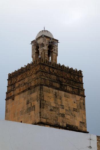 minaret built in 16th century 16th Century Architecture Building Exterior Built Structure Decoration History Inscription Low Angle View Minaret Old Buildings Outdoors