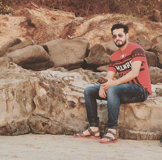 Instapic Instaman Me Thebeach Goa Vacation Photographer Friends Fun Style Timepass Hobby Beard Bearyfriends Beardgang Growyourbeard @satishmodekar Satyamphotography