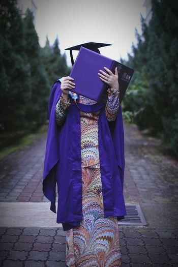 Graduationday Who Am I?? Hehehe😂😂😂